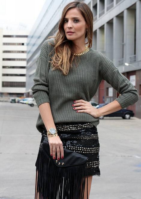 Street style con la ropa del otoño invierno 2012 2013