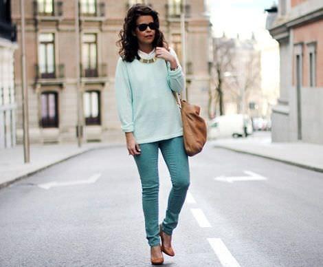 street style con las tendencias de la primavera