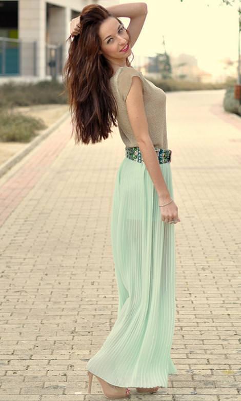 tendencias de la primavera verano 2012 tejidos plisados