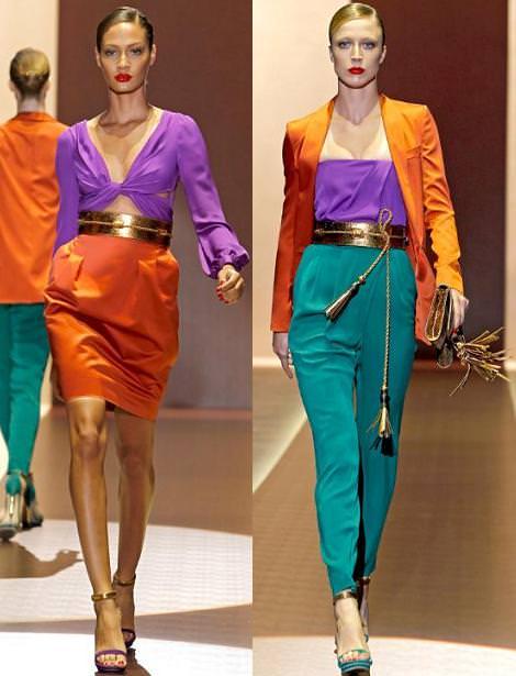 Colores ácidos (Tendencias primavera 2011)