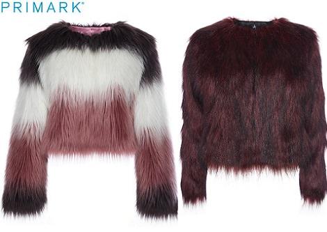 abrigos de pelo de primark otoño invierno 2014 2015