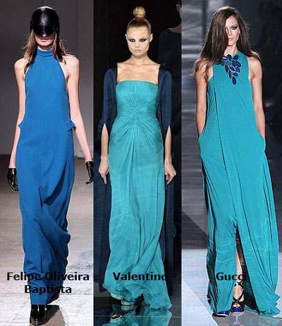moda primavera verano 2009, el azul