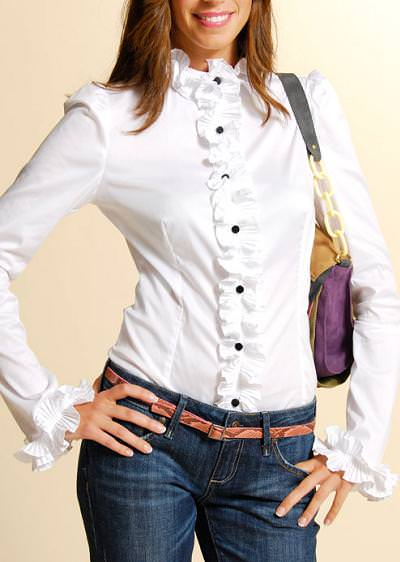 En busca de una camisa blanca