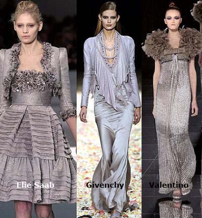 moda primavera verano 2009, el gris