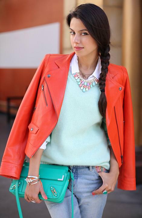 Moda en la calle primavera verano 2013