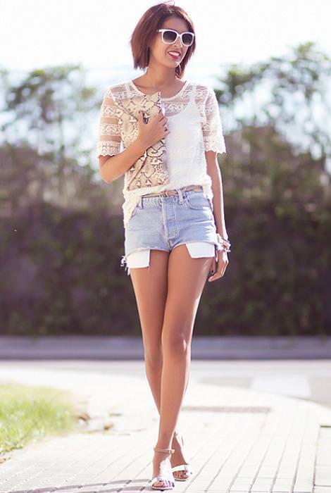 Moda verano 2012 shorts
