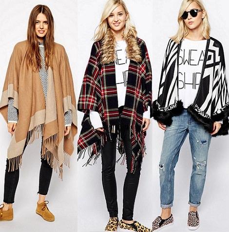 capa manta de asos de moda otoño invierno 2015