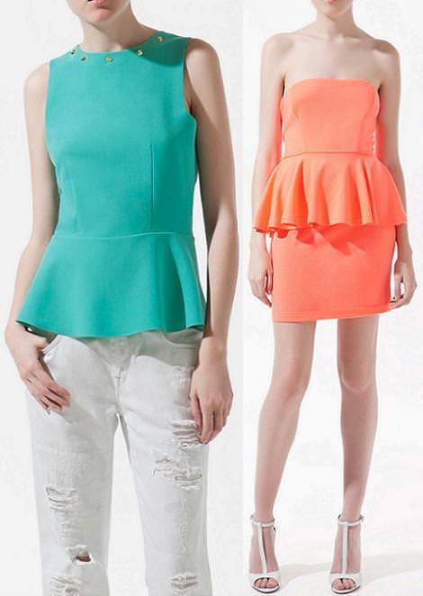 Ropa de moda primavera verano 2012