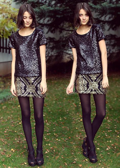 Street style y looks para vestir de fiesta en Nochevieja y Navidad