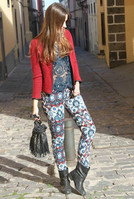Tendencias de moda del invierno 2012: estampado navajo