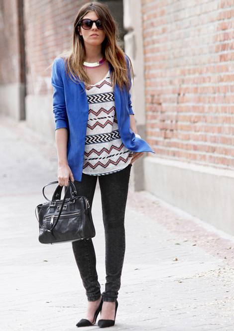 Tendencias de la moda primavera verano 2012: estampado navajo