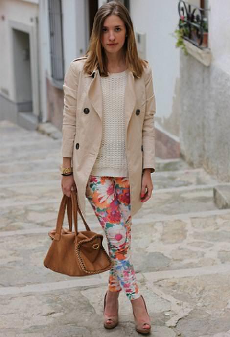 Tendencias de la moda primavera verano 2012: estampado flores