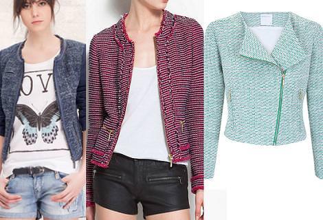 Tendencias primavera verano 2012 chaquetas tweed
