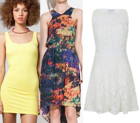 Tendencias primavera verano 2012 vestidos de fiesta