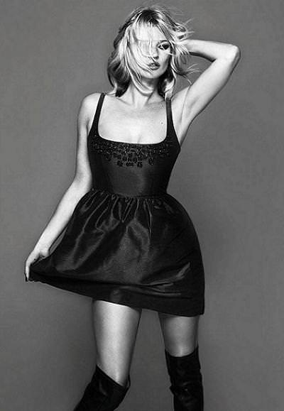 Kate Moss, Topshop Christmas 2008