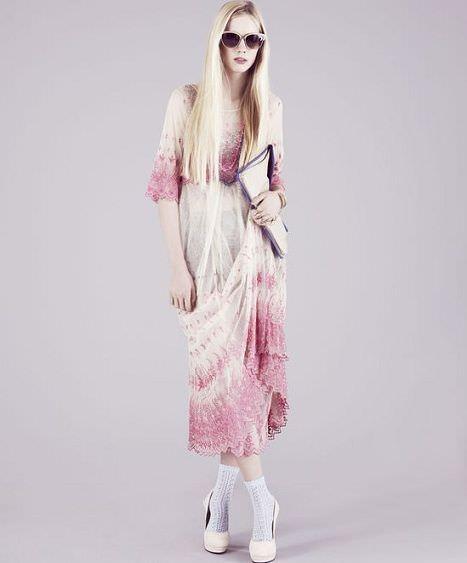 catalogo de topshop vestido largo
