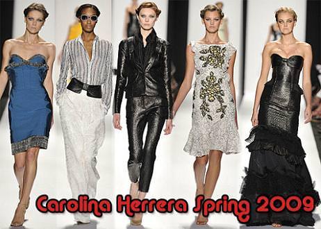 Carolina Herrera Spring 2009