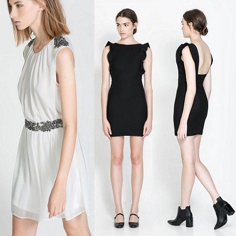4f71683fe vestidos de fiesta cortos para boda de Zara otoño 2013