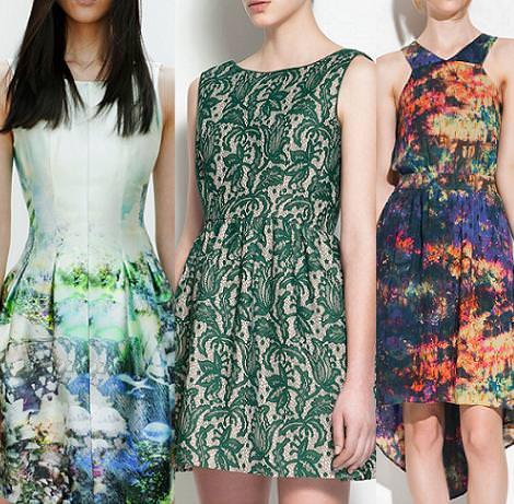 Vestidos para bodas 2012 de Zara