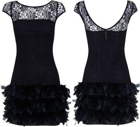 los mejores vestidos de fin de año 2012