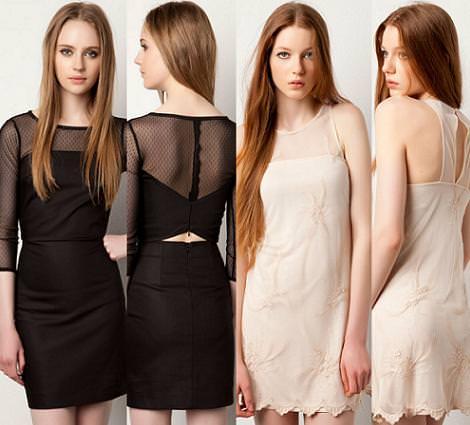 Nuevos vestidos primavera verano 2012 de Pull and Bear