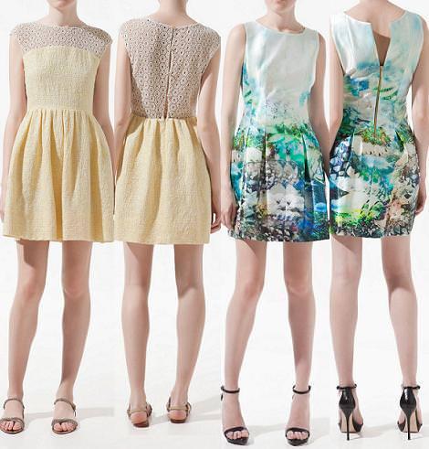 Nuevos vestidos primavera verano 2012 de Zara