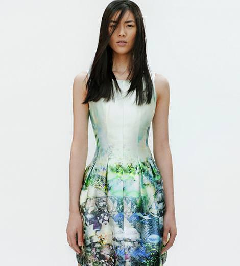 Nuevos vestidos primavera verano 2012