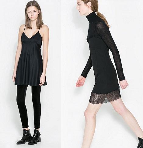 Vestido largo negro nochevieja