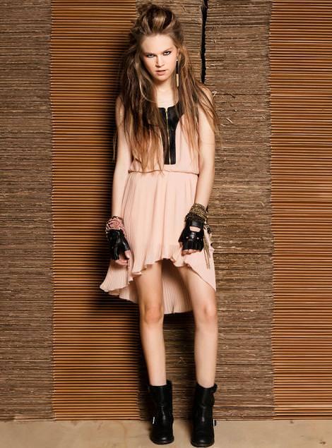 Vestidos asimétricos muy de moda