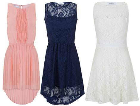 Vestidos de fiesta cortos 2012 Blanco