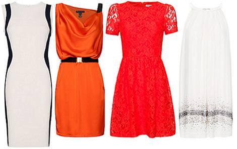 Vestidos de fiesta cortos 2012 Mango