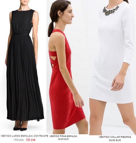 Vestidos de fiesta cortos menos de 50 euros