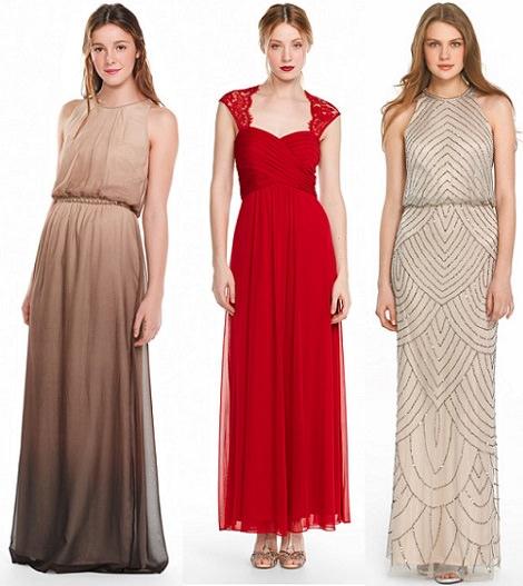 vestidos de fiesta largos de el corte inglés mujer primavera verano 2014