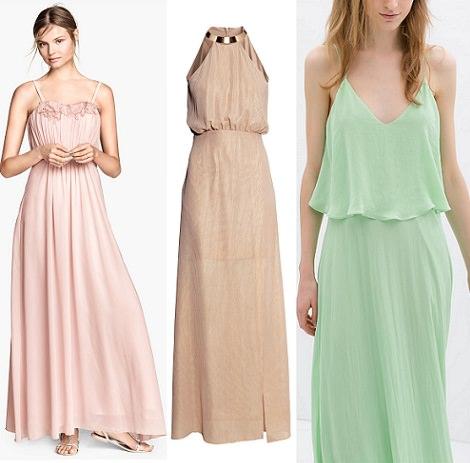 Vestidos de fiesta largos verdes baratos