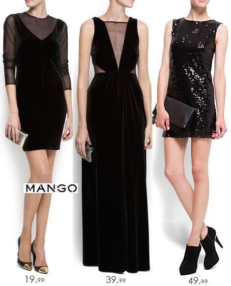 Vestidos para Nochevieja 2012 2013