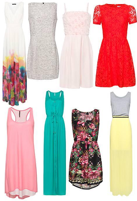 Vestidos primavera verano 2012 de Mango