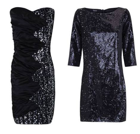 Vestidos de fin de año 2011:de lentejuelas