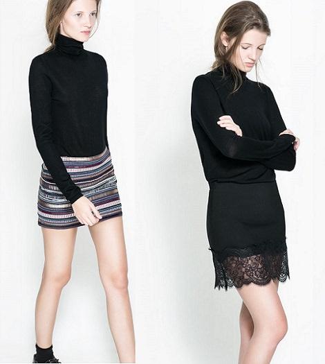 tendencias en faldas de fiesta navidad y fin de año 2013