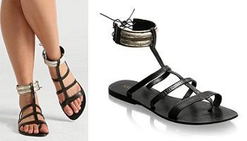 sandalias tipo romanas