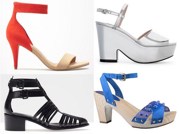 Sandalias del verano 2013, novedades en zapatos mujer