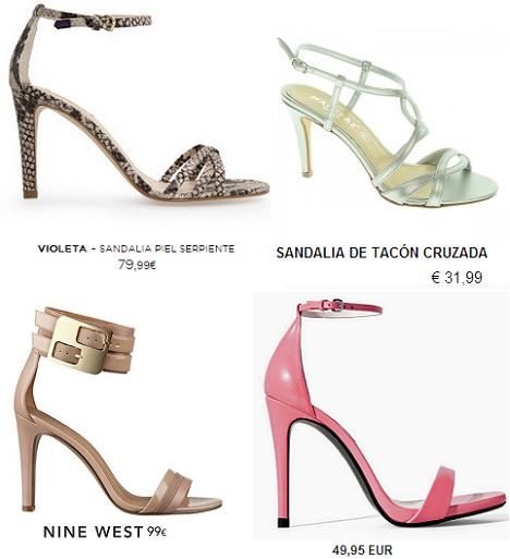 sandalias de fiesta baratas verano 2014