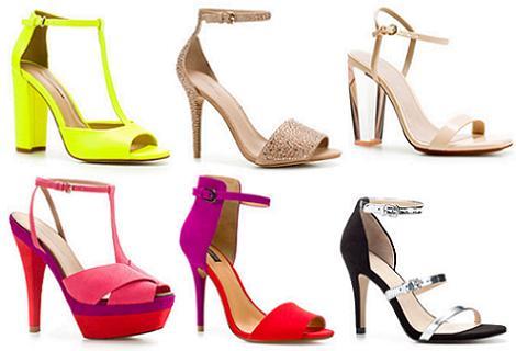 Sandalias de fiesta verano 2012