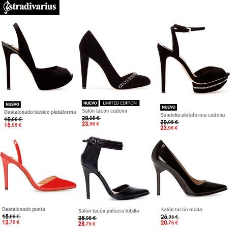 Zapatos y bolsos de fiesta para lucir esta Navidad 2013 stradivarius