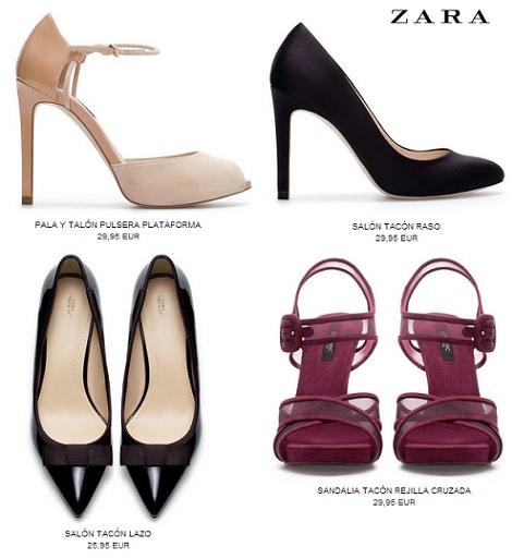 Zapatos y sandalias para Fin de Año por menos de 30 euros
