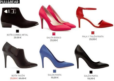 Zapatos y sandaliasde pull and bear por menos de 30 euros
