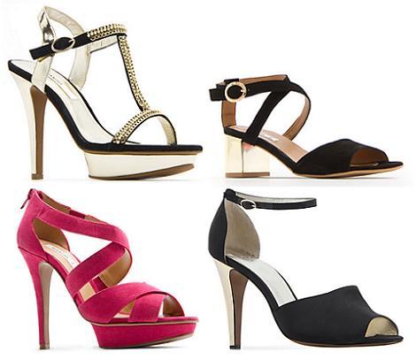 Zapatos de fiesta primavera verano 2012 de Mango