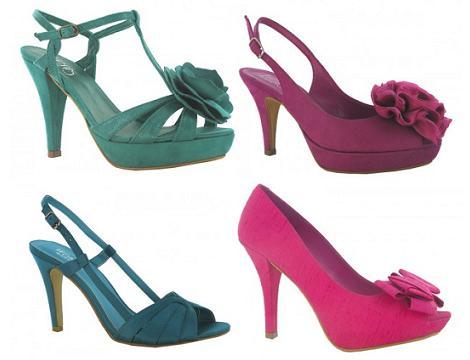 Zapatos de fiesta primavera verano 2012 de MaryPaz