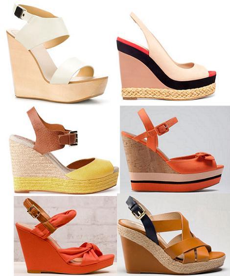 Zapatos primavera verano 2012 : cuñas