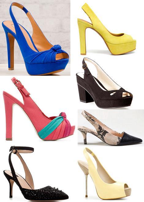 Zapatos primavera verano 2012 : destalonados