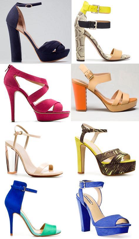 Zapatos primavera verano 2012 : sandalias